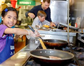 Minnesota kids cook up a snack challenge.