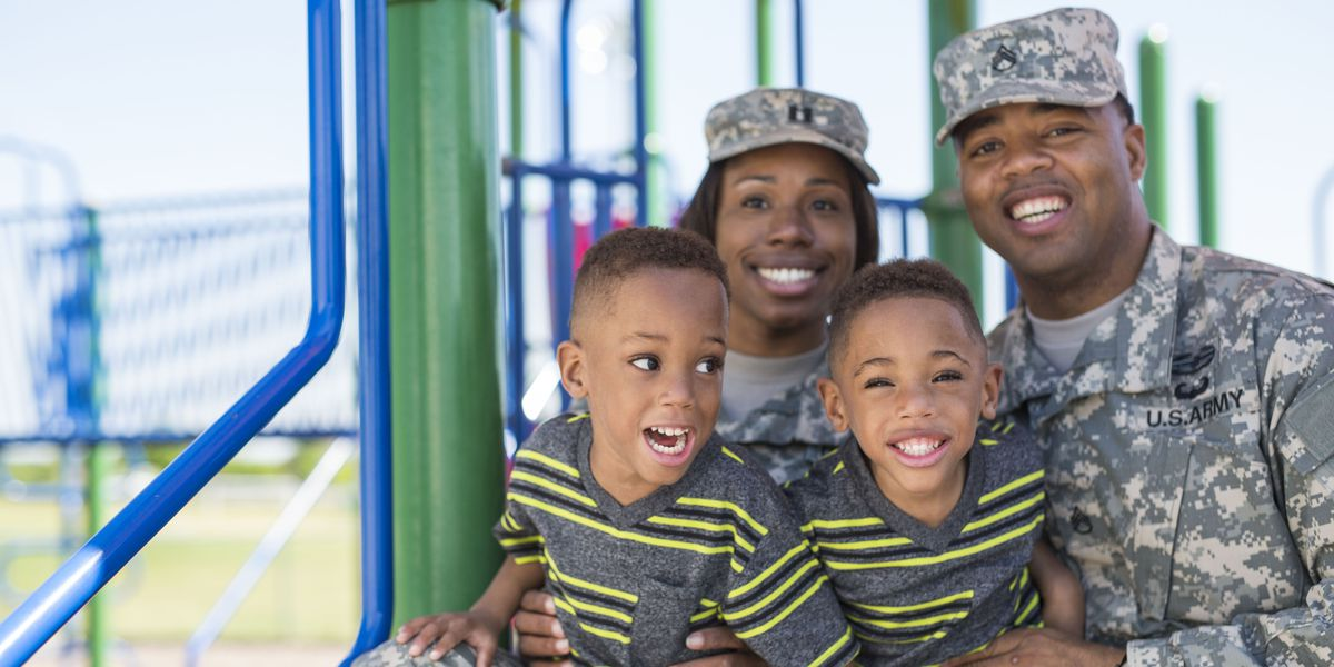 The Wooten family with their two sons.
