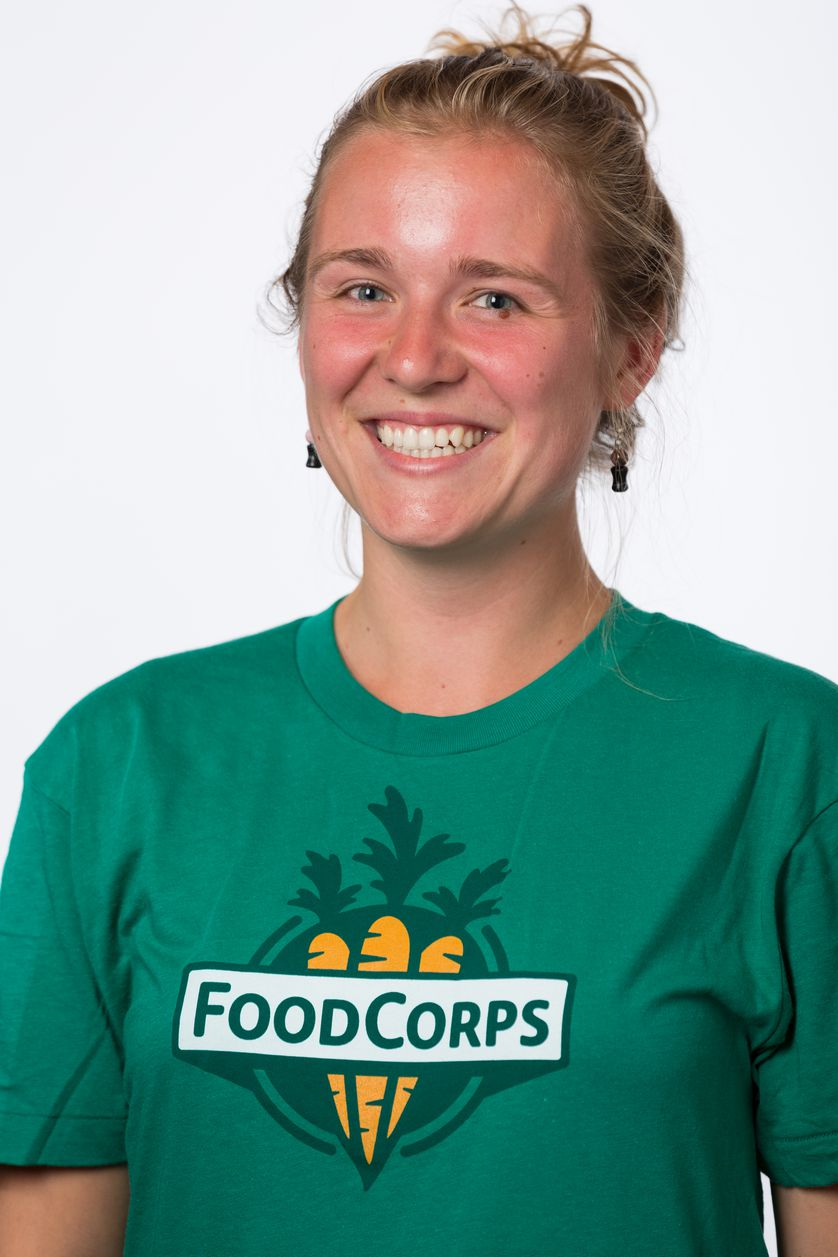 Mary Auld, FoodCorps member