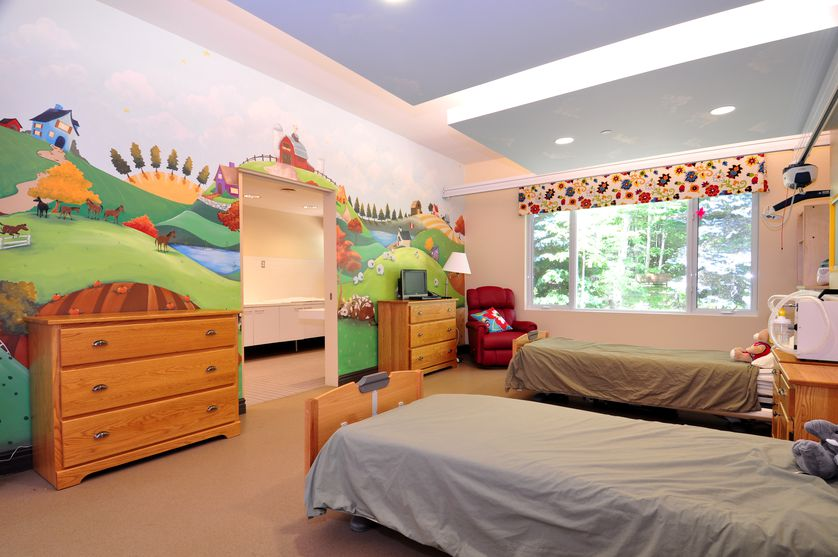 The Darling Home's Rolling Hills Respite room.