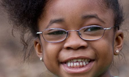 New Eyes for the Needy young girl recipient
