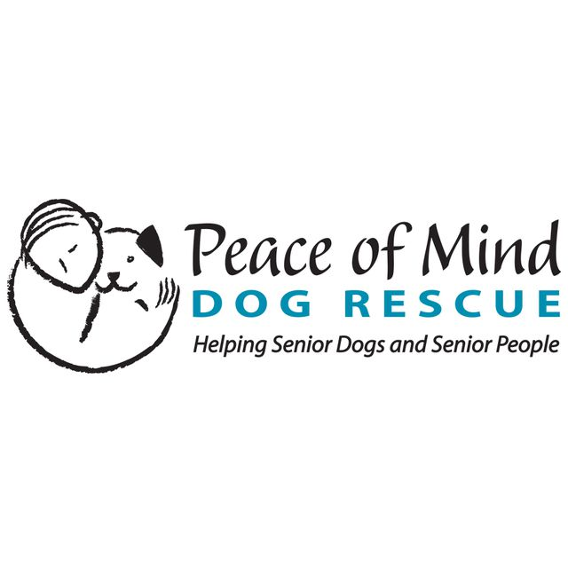 peace of mind dog rescue logo