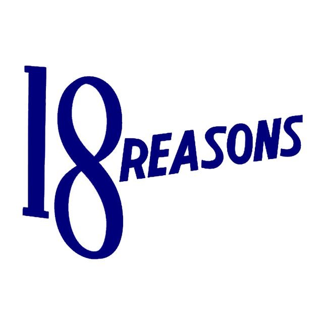 18 Reasons logo
