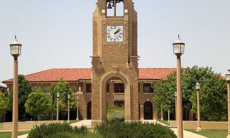 Texas Tech clock tower