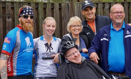 wounded warriors bike ride