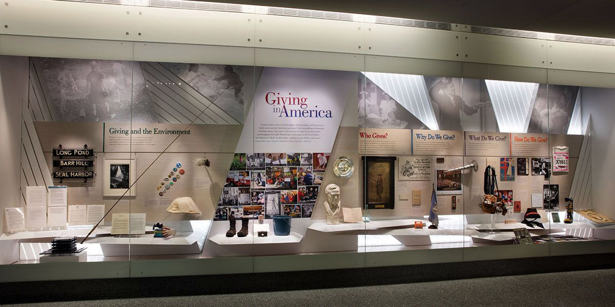 museum exhibit at the Smithsonian