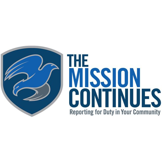 The Mission Continues logo