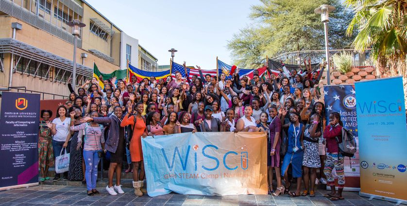 Women in science gather together in Ethiopia