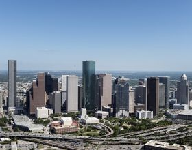 shot of Houston skyline