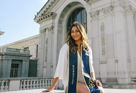 Alum at UC Berkeley graduation