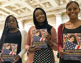 philly students with new book