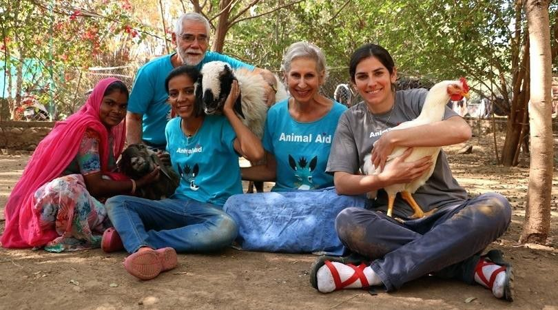 founders of animal aid unlimited